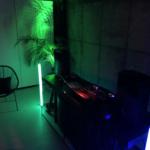 Realizacja Blue Light. Oświetlenie i nagłośnienie imprezy prywatnej